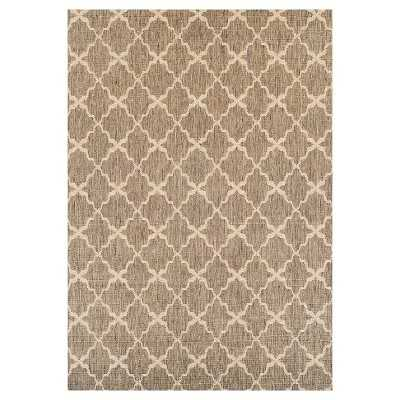 "Tan Tile Outdoor Rug - Thresholdâ""¢ - Target"