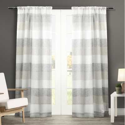 Exclusive Home Curtain Panel - Natural - Set of 2 - AllModern