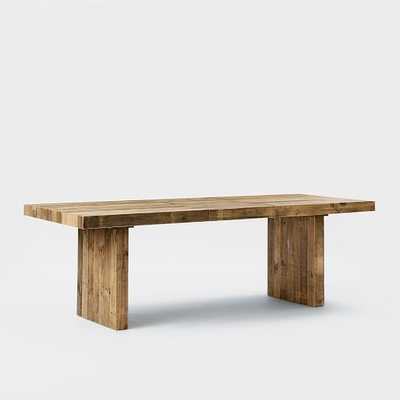 """Emmersonâ""""¢ Reclaimed Wood Expandable Dining Table - West Elm"""