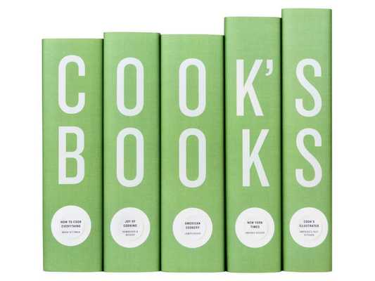 Green Cook's Books Set - Domino