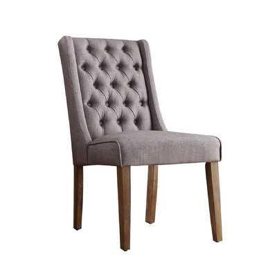Leonora Tufted Side Chair - Wayfair