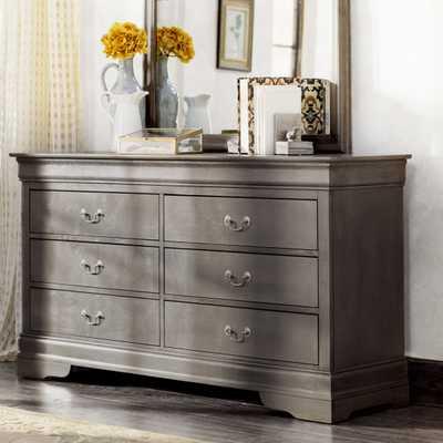 Arraignee 6 Drawer Dresser - Driftwood Grey - Wayfair