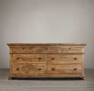 ST. JAMES 7-DRAWER DRESSER - RH