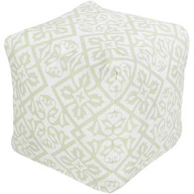 Pouf Ottoman by Surya - Wayfair