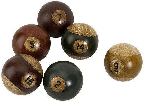 POOL BALLS - SET OF 6 - Home Decorators