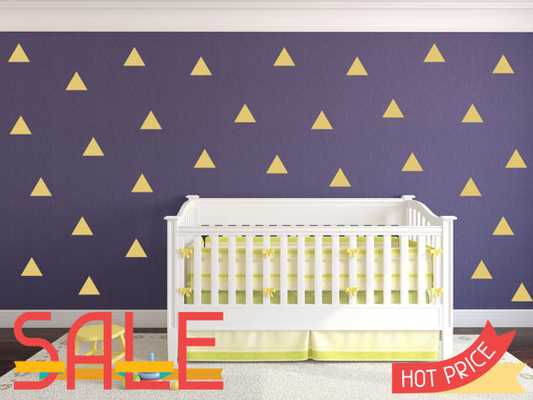 Triangle Wall Decals - 300 Pcs - Etsy
