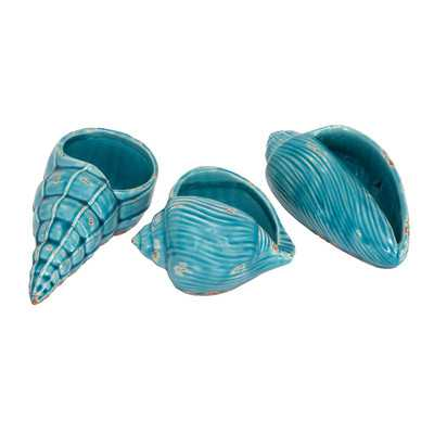 Hamilton 3 Piece Shells Sculpture Set - Wayfair