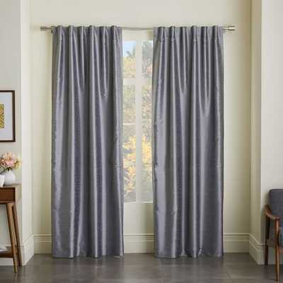 Greenwich Curtain + Blackout Liner - West Elm