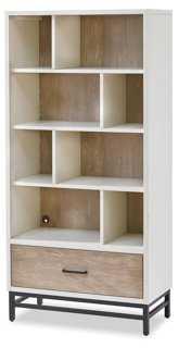 "Dover Kid's 65"" Bookcase, Driftwood - One Kings Lane"