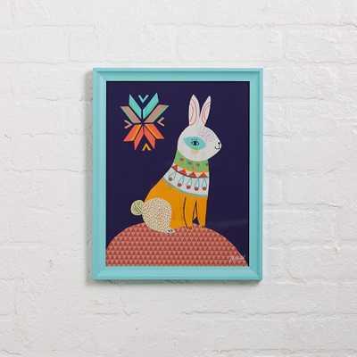 Folk Bunny Wall Art - Land of Nod