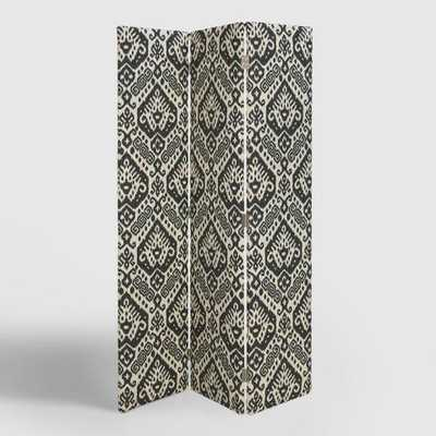 Charcoal Safi Upholstered Screen - World Market/Cost Plus