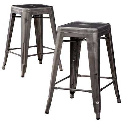 "Carlisle Metal 24"" Counter Stool - Set of 2 - Target"