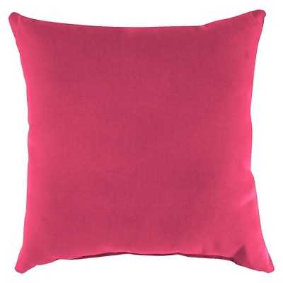 Jordan Set of Square Toss Pillows - Hot Pink -with insert - Target