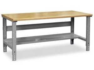 """Packing Table - 72 x 36"""", Composite Wood Top - uline.com"""