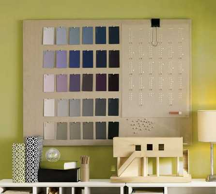 Linen pinboard - Large - Pottery Barn