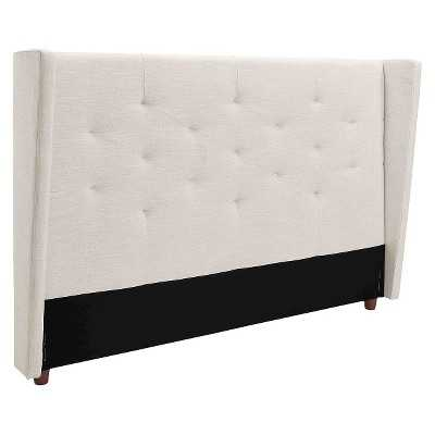 Mid Century Modern Wingback Headboard - Natural - Queen - Target