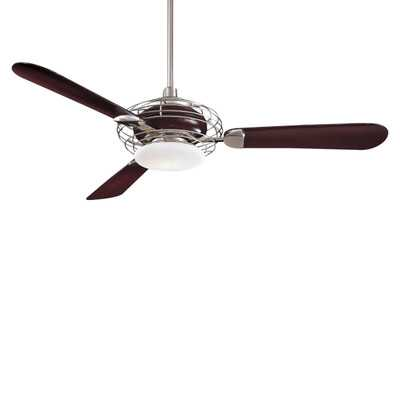 "52"" Acero Retro 3 Blade Ceiling Fan - Wayfair"