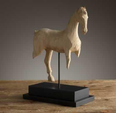 19th C. Trakhena Cavalry Horse Fragment - RH