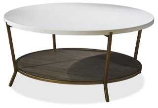 Tilly Coffee Table, Java Gray - One Kings Lane