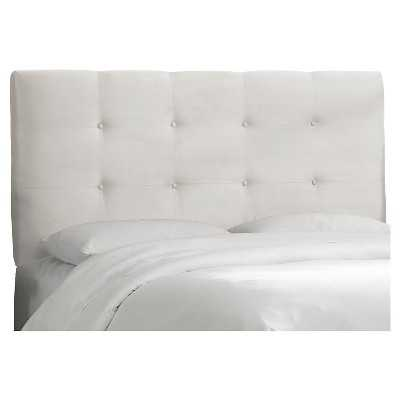 Dolce Microsuede Headboard - Premium White - Queen - Target