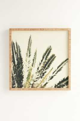 """Chelsea Victoria For Deny Palms No. 2 Framed Wall Art - 30"""" SQ, - Urban Outfitters"""
