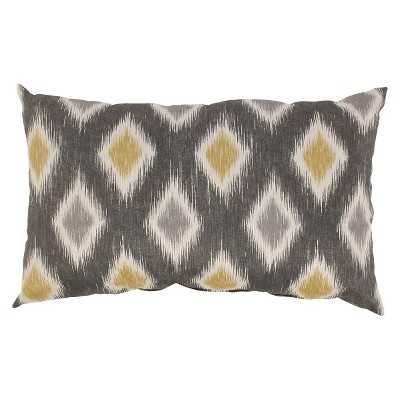 Rodrigo Graphite Throw Pillow Collection 11.5x18.5 with insert - Target