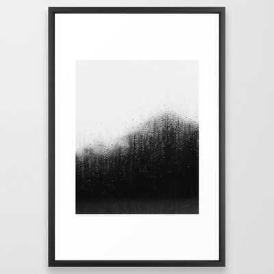 "On the road#3 Art Print - 26"" x 38"" - Vector Black Frame - Society6"
