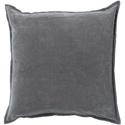 Smooth Velvet Cotton Throw Pillow - Wayfair