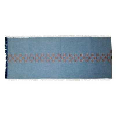 """Nate Berkusâ""""¢ Stitched Denim Runner - Blue (14""""X72"""") - Target"""