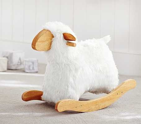Sheep Rocker - Pottery Barn Kids
