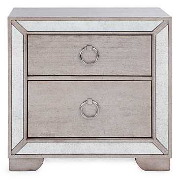 Ava 2 Drawer Nightstand - Z Gallerie