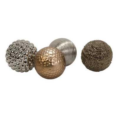 Decorative Ball Sculpture -Set of 4 - AllModern