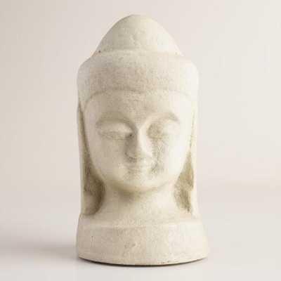 Small Paper Mache Buddha Head - World Market/Cost Plus