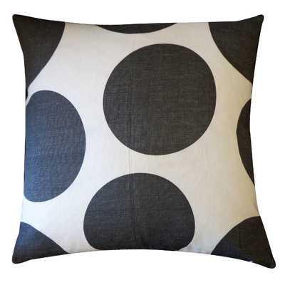 """Ball Cotton Throw Pillow- 20"""" -Down/Feather insert - Wayfair"""