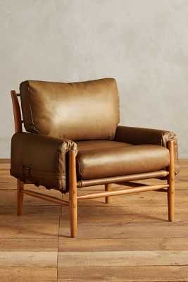 Leather Rhys Chair - Anthropologie