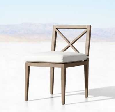 MUSTIQUE TEAK SIDE CHAIR - RH
