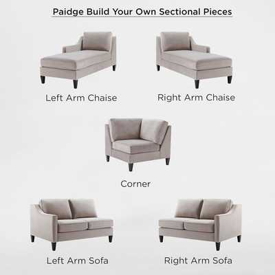 Build Your Own - Paidge - Right Arm Sofa - West Elm