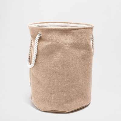 BASKET WITH JUTE HANDLES - Zara Home