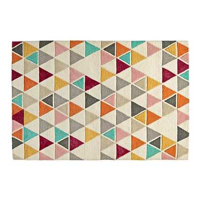 8' x 10' Totally Triangular Rug - Land of Nod