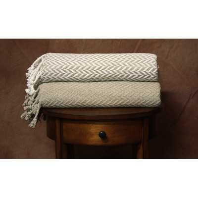 Monacco Cotton Throw - Wayfair
