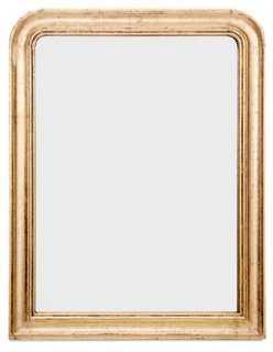 Loius Phillipe Mirror, Antiqued Gold - One Kings Lane