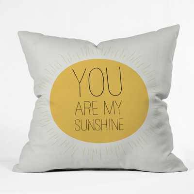 "YOU REALLY ARE MY SUNSHINE - 16"" x 16""  (No Insert) - Wander Print Co."