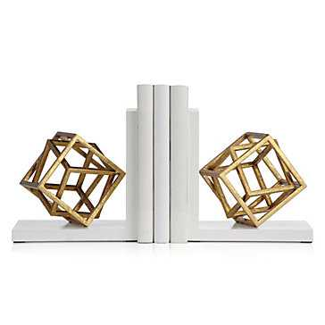 Cubed Bookends - Set of 2 - Z Gallerie