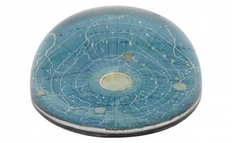 BLUE UNIVERSE DOME PAPERWEIGHT - Jayson Home