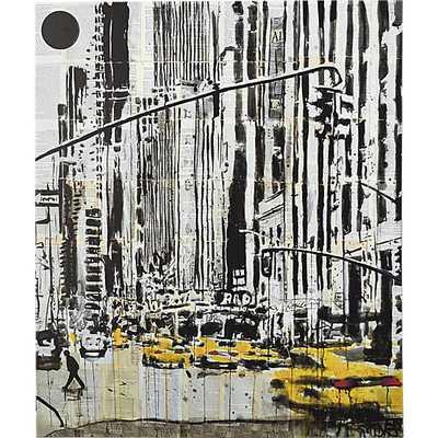 Taxis print - 34x40 - Unframed - CB2