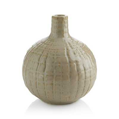 Hagen Short Vase - Crate and Barrel