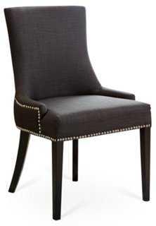 Agoura Linen Dining Chair - One Kings Lane