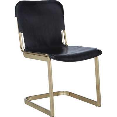 Rake brass chair - CB2