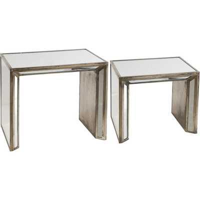 Clara Side Tables, Set of 2 - High Fashion Home
