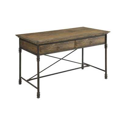 Executive Writing Desk with 2 Drawer - Wayfair